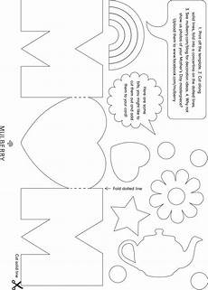 mothers day card printable template 20614 mothers day card template portrait mothers day card template cards mothers day crafts