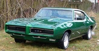 Dark Green 1968 Pontiac GTOjpg  Wikimedia Commons
