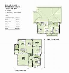 quad level house plans sienna mkii tri level upslope squares home design house