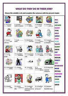 what do they do in their worksheet free esl printable worksheets made by teachers