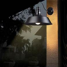 14in vintage idustrial barn style indoor wall l sconce light metal shade opt ebay