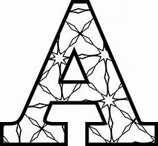 Malvorlagen Kostenlos Buchstaben Free Printable Alphabet Letters Coloring Pages