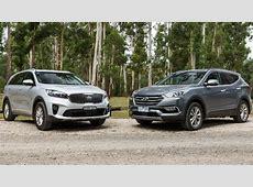 2019 Hyundai Santa Fe vs 2019 Kia Sorento Technical