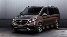 mercedes v class gets an exterior only facelift from