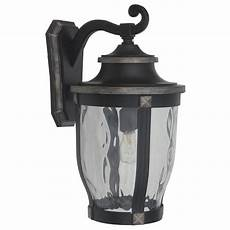 home decorators collection mccarthy 1 light bronze outdoor wall 23442 the home depot