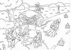 ausmalbilder auto unfall ausmalbilder