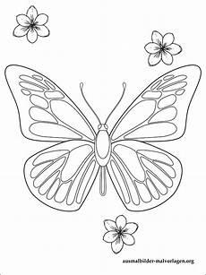 Ausmalbilder Blumen Schmetterlinge Schmetterlinge Mit Blumen Ausmalbilder Kostenlos Und