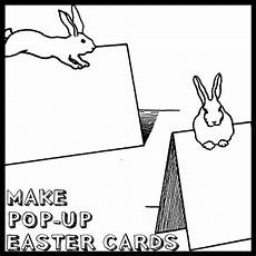 free printable easter pop up card templates how to make pop up easter bunny rabbit cards crafts idea