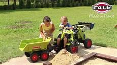 anhänger mit bild oogarden traktor claas axos mit frontlader und anh 228 nger