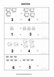 easy addition worksheets for kindergarten 9316 number the activities for preschoolers pitchbad