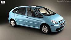 citroen xsara picasso 2004 by 3d model store humster3d