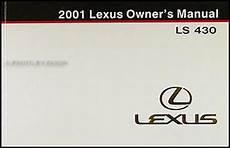 manual repair free 2001 lexus is security system 2001 lexus ls 430 navigation system owners manual original