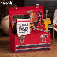tool box card template s day box cards svg kit tool box box card