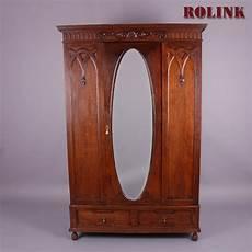 antik alter englischer garderobenschrank kleiderschrank