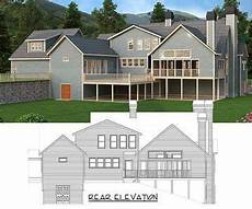 craftsman house plans with detached garage plan 29866rl craftsman retreat with detached garage
