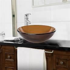 Tempered Glass Vessel Vanity Bathroom Sink Ebay