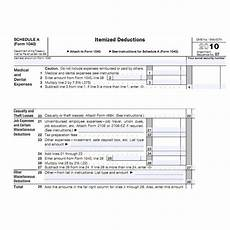 casualty loss form claiming a casualty loss deduction
