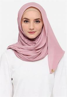 Premium Pleated Shawl From Vercato In Dusty Pink