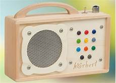 mp3 player fuer kinder hoerbert an mp3 player speakers for made of wood