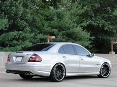 mercedes w211 e55 amg on r20 rims benztuning