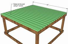 elevated cubby house plans ana white build a playhouse deck free and easy diy