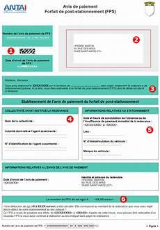 Avis De Paiement Fps Forfait Post Stationnement