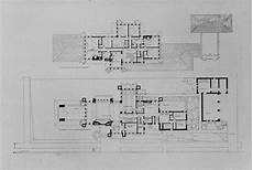 prairie house frank lloyd wright plan plan heath house 1905 buffalo new york prairie style