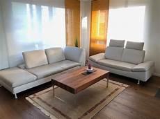 sofa garnitur sofa garnitur leder longlife sand grau acheter sur ricardo