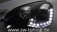Sw Drl Scheinwerfer Golf 5 Black Tfl Sw Tuning