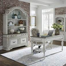 antique home office furniture magnolia manor 3 piece home office set in antique white