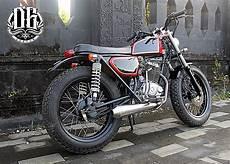 Tiger Modif Japstyle by Tangki Knalpot Kustom Inspirasi Modifikasi Motor Kustom