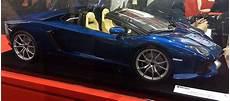 lamborghini aventador lp700 4 roadster 50th anniversario convertible collector studio fine automotive memorabilia 1 8 2014 lamborghini aventador roadster lp700 4