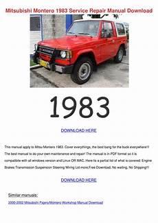 car service manuals pdf 1988 mitsubishi cordia lane departure warning mitsubishi montero 1983 service repair manual by kari mabey issuu