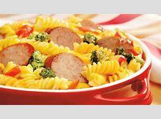 Cheesy Sausage Rotini Casserole image