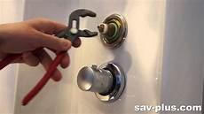 montage robinet encastrable comment changer la cartouche inverseur hydrodouche jedo