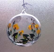 le glaskugel deko objekte wundersch 246 ne handbemalte glaskugel ein