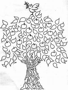 pin by kidsplaycolor on apple tree coloring pages tree