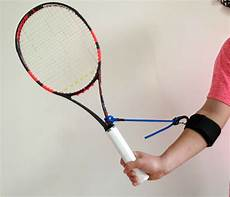 tennis swing tennis swing wrist aid for forehands backhands