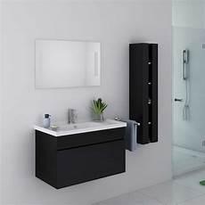 ensemble de salle de bain noir meuble de salle de bain