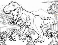 ausmalbilder lego jurassic world malvorlage dinosaurier