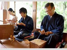 sabun kubo right head of chikumeido his son sayuki center