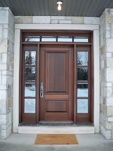 Wood Front Doors Portes D Entr 233 E En Bois Www