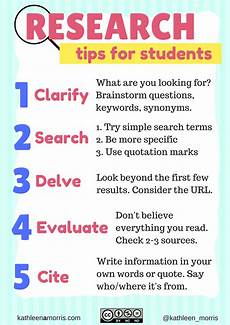 five tips for teaching students how to research and filter information teacher stuff library