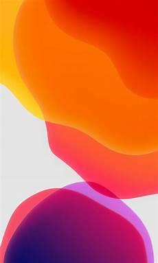 Ios 13 Wallpaper Orange