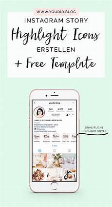 einheitliche instagram highlight cover erstellen free