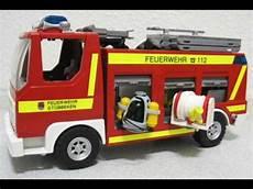 playmobil feuerwehr sammlung teil 1 brandschutz wmv
