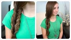 2 minute faux fishtail braid cute hairstyles youtube