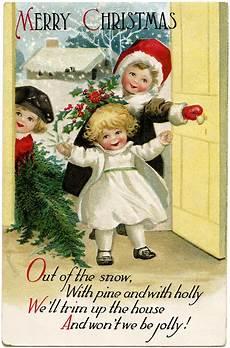 clapsaddle christmas children old design shop blog