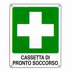 simbolo cassetta pronto soccorso cartello quot cassetta di pronto soccorso