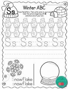 winter letter worksheets 20040 winter letter practice lettering learning letters learning the alphabet